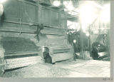 Coal hoppers inside the power plant, The University of Iowa, 1920s