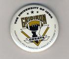 Homecoming badge, October 27, 1990