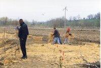 1999 - Flint Creek Work day on Richard Olson's property