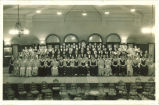 Choir in Iowa Memorial Union, The University of Iowa, 1930s