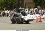 Skid loader brings more sandbags, The University of Iowa, June 14, 2008