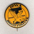 Homecoming badge, October 17, 1931