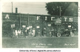 Play depicting college student's life before and after graduation for Senior Frolic, The University of Iowa, 1914
