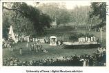 Shakespeare tercentenary fete in City Park, The University of Iowa, 1916