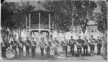 The Knights Templar Band, 1886-1890; Oskaloosa; Mahaska County; Iowa