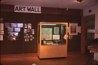 Fifty Years of Conservation in Cherokee County display at the Sanford Museum.