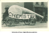 Chemistry parade float, The University of Iowa, 1910s