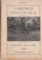 1906 Chautauqua program