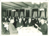 Men in restaurant in Iowa Memorial Union, the University of Iowa, 1930s