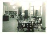 Classical library in Schaeffer Hall, The University of Iowa, October 1932
