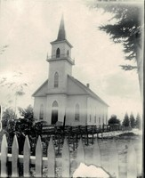 St. Paul Lutheran Church in Garnavillo, Iowa -1880