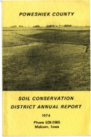 1974 Poweshiek County Soil and Water Conservation District Annual Report