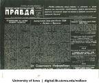 Photostat copy of Russian language Buryat-Mongolian Pravda, Siberia, 1944