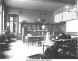Geology Laboratory, north room in Old Science Hall, The University of Iowa, 1900s