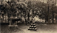 Garnavillo, City Park - Cannon 1912