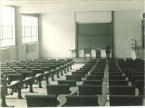 Lecture room at Trowbridge Hall, The University of Iowa, 1917