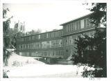 Hospital School for Handicapped Children in winter, the University of Iowa, 1955