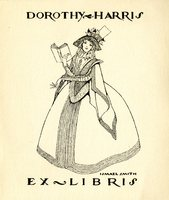 Dorothy Harris Bookplate