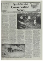 Quad-District Conservation Newsletter; Vol. 3, no. 4 (1998-1999, Winter).