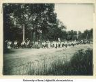 Senior Day celebration, The University of Iowa, 1900s