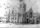 Central Methodist Church, built in 1896, Oskaloosa, Iowa; Mahaska County