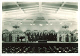Choir in Iowa Memorial Union, The University of Iowa, April 1936