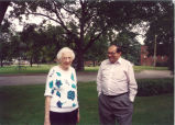 Louise Noun and Jim Demetrion, Iowa City, Iowa, September 1990