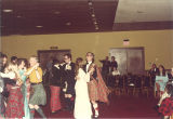 Dancers at Scottish Highlander banquet, The University of Iowa, May 1978