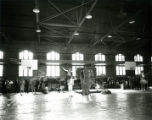Alumni pep rally in the State Gym for Homecoming, 1966