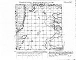 Iowa land survey map of t099n, r023w