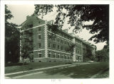 South face of Currier Hall, The University of Iowa, 1940s