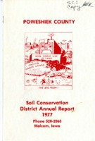 1977 Poweshiek County Soil and Water Conservation District Annual Report