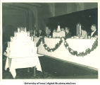 Old Capitol anniversary banquet, The University of Iowa, ca. 1940s