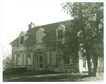 Front view of Hutchinson House, the University of Iowa, 1920s?