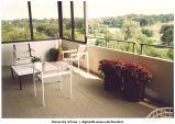 Louise Noun's Fleur Drive apartment, Des Moines, Iowa, ca. 1993