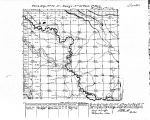 Iowa land survey map of t070n, r027w