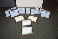 Awards earned from the Iowa Soil Conservation Awards Program by Cherokee County Soil and Water Conservation District.
