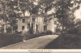 Greenwood Drive, Dr. F. J. Will Residence