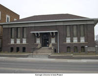 Carroll Public Library front, Carroll, Iowa