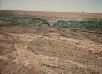 Water Erosion Damage on the Dittmer Farm.