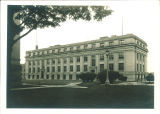 MacLean Hall east facade, the University of Iowa, September 1930