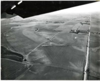 Aerial Photo of Fields in Atlantic, Iowa