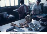 Preparing a meal, Shinkyo commune, Nara-ken, June 1965