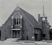St. Peter Lutheran Church in Garnavillo, Iowa -1946