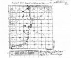 Iowa land survey map of t091n, r040w