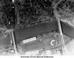 Iowa Field, Quadrangle Residence Hall, Spillway, The University of Iowa, 1923