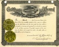 Mills County Conservation Certificate_Exhibit