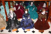 Doll Display at the Iowa Capitol