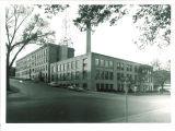 Engineering Building at corner of Madison and Washington Streets, the University of Iowa, 1950s