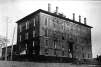 Old Brick Capitol Building- Des Moines, IA